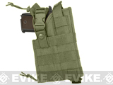 NcStar MOLLE Tactical Pistol Holster (Color: OD Green)
