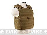 VISM / NcStar Expert Plate Carrier Vest (Color: Tan)