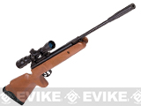 Crosman Nitro Venom Nitro Piston Powered .177 Hunting Air Gun with Wood Furniture and 4x32 Scope