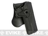 Matrix Hardshell Adjustable Holster for 1911 Series Airsoft Pistols (Type: Black / Paddle Attachment)