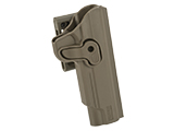 Matrix Hardshell Adjustable Holster for 1911 Series Airsoft Pistols (Type: Flat Dark Earth / Belt Attachment)