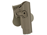 Matrix Hardshell Adjustable Holster for 1911 Series Airsoft Pistols (Type: Flat Dark Earth / Paddle Attachment)