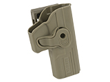 Matrix Hardshell Adjustable Holster for Glock ATP ACP Series Airsoft Pistols (Type: Flat Dark Earth / Belt Attachment)