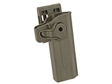 Matrix Hardshell Adjustable Holster for STI Hi-Capa 2011 Series Pistols (Type: Flat Dark Earth / Belt Attachment)