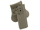 Matrix Hardshell Adjustable Holster for STI Hi-Capa 2011 Series Pistols (Type: Flat Dark Earth / Paddle Attachment)