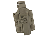 Matrix Hardshell Adjustable Holster for STI Hi-Capa 2011 Series Pistols (Type: Flat Dark Earth / Drop Leg)
