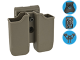 Matrix Hardshell Adjustable Magazine Holster for Glock Series Pistol Mags - Flat Dark Earth