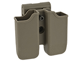 Matrix Hardshell Adjustable Magazine Holster for Glock Series Pistol Mags (Mount: Belt Attachment / Dark Earth)