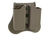 Matrix Hardshell Adjustable Magazine Holster for Glock Series Pistol Mags (Mount: Paddle Attachment / Dark Earth)