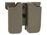 Matrix Hardshell Adjustable Magazine Holster for Glock Series Pistol Mags (Mount: MOLLE Attachment / Dark Earth)