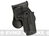 Matrix Hardshell Adjustable Holster for M9 Series Airsoft Pistols (Type: Black / Paddle Attachment)