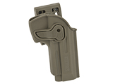 Matrix Hardshell Adjustable Holster for M9 Series Airsoft Pistols (Type: Flat Dark Earth / Belt Attachment)
