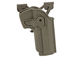 Matrix Hardshell Adjustable Holster for M9 Series Airsoft Pistols (Type: Flat Dark Earth / MOLLE Attachment)