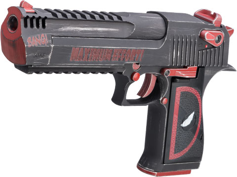 Desert Eagle Licensed L6 .50AE Full Metal Gas Blowback Airsoft Pistol by Cybergun (Color: Maximum Effort!)