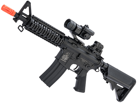 Colt Licensed M4 CQB-R Carbine Airsoft AEG Rifle by Cybergun / CYMA (Package: Gun Only / 350 FPS)