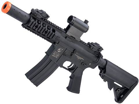 Colt Licensed Sportsline M4 AEG by Cybergun (Model: M4 SBR w/ 5 Quadrail)