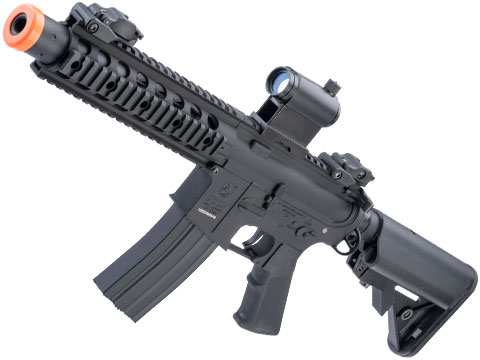 Colt Licensed Elite Line M4 AEG by Cybergun (Model: M4 SBR w/ 8 Quadrail)