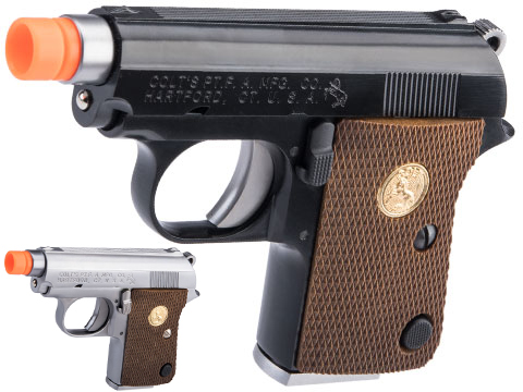 WE Tech Officially Licensed Colt Junior .25 ACP Gas Blowback Airsoft Pistol by Cybergun