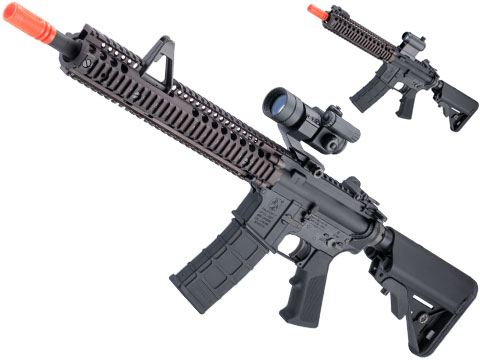 GHK Colt Licensed M4A1 SOPMOD Block 2 Gas Blowback Airsoft Rifle by Cybergun (Length: 10.3 Mk18 MOD.1)