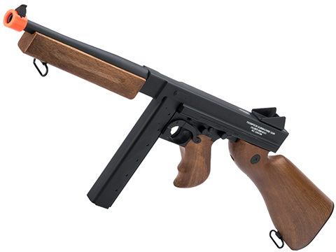 Licensed Thompson M1A1 Airsoft AEG Rifle Cybergun / CYMA w/ Metal Receiver & Gearbox (Package: Gun Only)