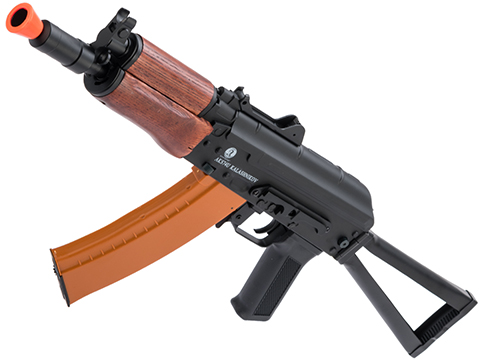 Softair Licensed Kalashnikov Full Metal AKS74U Airsoft AEG with Real Wood Furniture