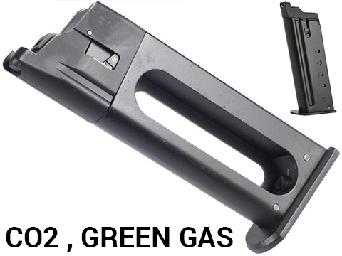 Cybergun 21 Round Magazine for KWC Desert Eagle Airsoft Gas Blowback (Type: CO2)