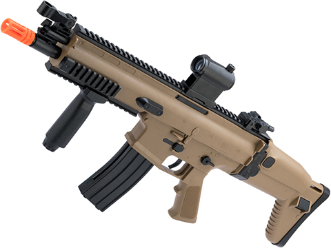 Cybergun SCAR-L Licensed Spring Powered Airsoft Rifle (Color: Tan)