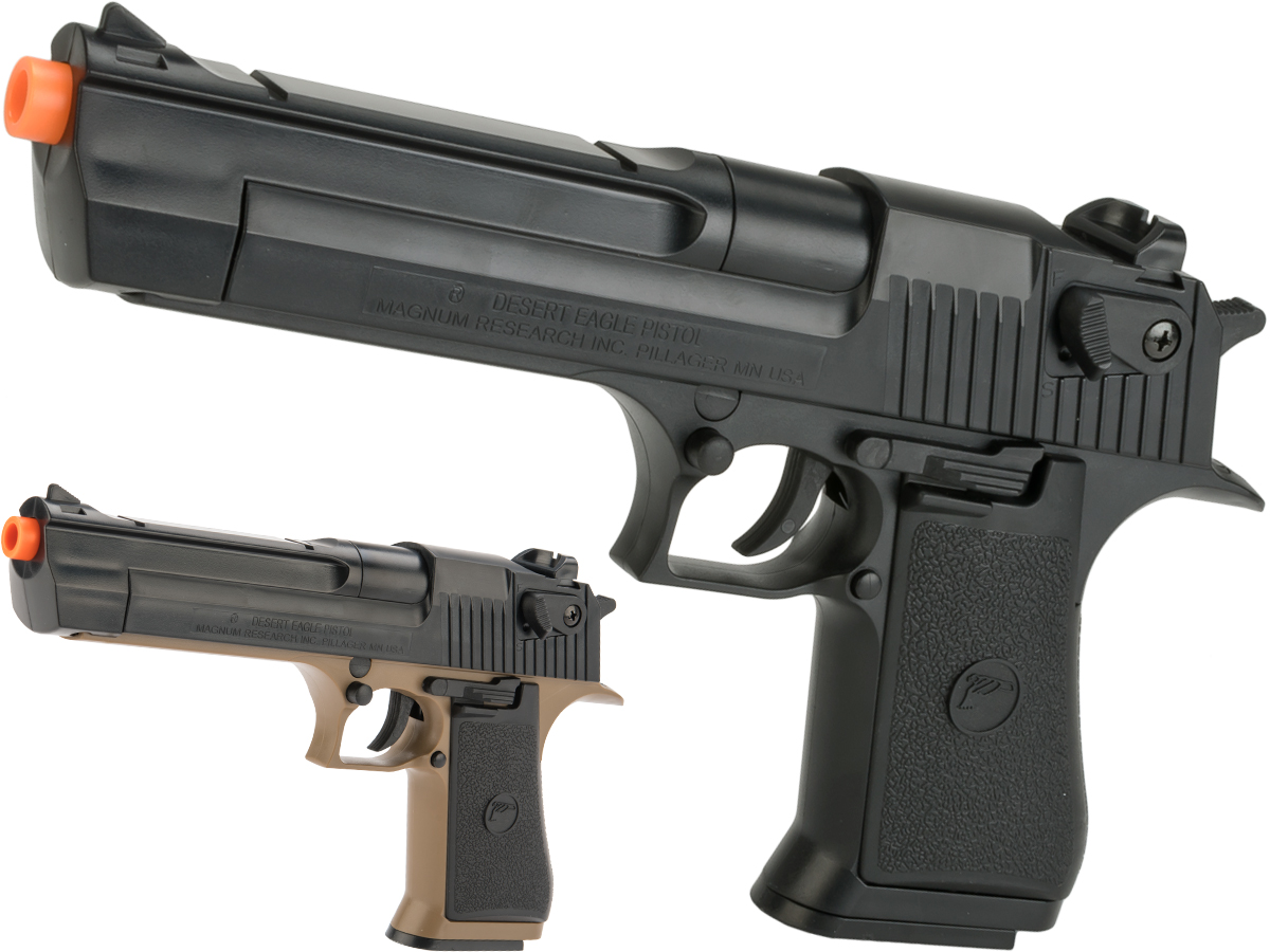 Desert Eagle Licensed .50 Action Express Airsoft Full Size Pistol w/ 190rd Hi-cap magazine (Color: Black)