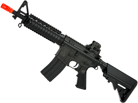 Colt Licensed M4 CQB-R SOPMOD LiPo Ready Airsoft AEG w/ Metal Gearbox (Package: Black / Gun Only)