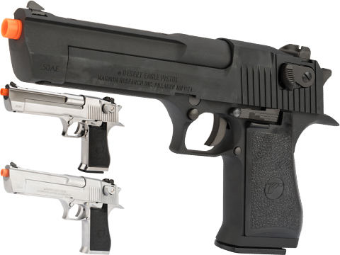 WE-Tech Desert Eagle .50 AE Full Metal Gas Blowback Airsoft Pistol by Cybergun