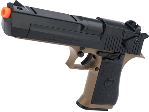 Desert Eagle Licensed .50 Action Express Airsoft Full Size Pistol w/ 190rd Hi-cap magazine (Color: Desert)