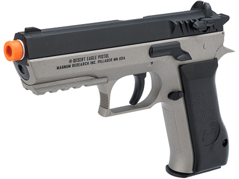 Magnum Research Jericho 941 Baby Desert Eagle Airsoft CO2 Pistol by Cybergun (Color: Black & Grey)