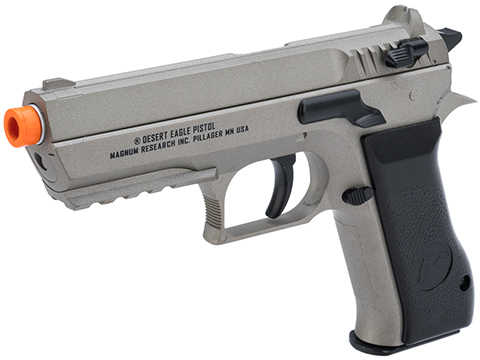 Magnum Research Jericho 941 Baby Desert Eagle Airsoft CO2 Pistol by Cybergun (Color: Grey)