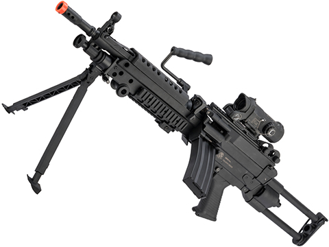 Cybergun FN Licensed M249 Para Featherweight Airsoft Machine Gun (Model: <350 FPS Version)