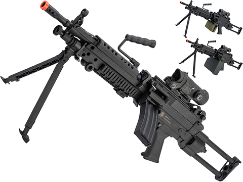Cybergun FN Licensed M249 Para Featherweight Airsoft Machine Gun (Model: Standard)