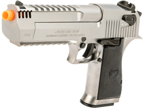 Desert Eagle Licensed L6 .50AE Full Metal Gas Blowback Airsoft Pistol by Cybergun (Color: Silver)