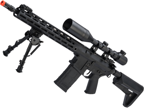 CYMA Platinum SR-25 QBS Airsoft AEG Designated Marksman Rifle (Model: 14.5 M-LOK)
