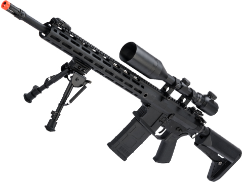 CYMA Platinum SR-25 QBS Airsoft AEG Designated Marksman Rifle (Model: 16.5 M-LOK)