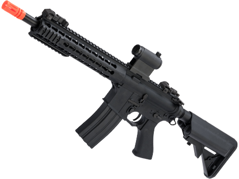 CYMA Polymer M4 Airsoft AEG with 11 KeyMod Handguard (Color: Black)