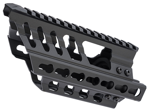 CYMA Tactical Railed Extended Handguard for P90 Series AEGs (Type: Keymod)