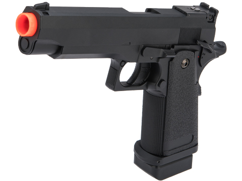 CYMA Advanced Full Auto Select Fire Hi-Capa Airsoft AEP w/ Metal Gearbox & Mosfet (Color: Black)