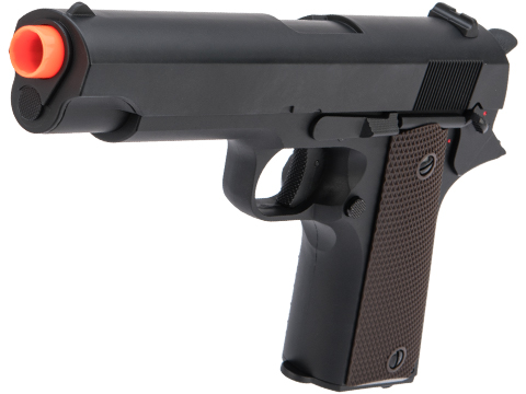 CYMA Advanced Full Auto Select Fire 1911 Airsoft AEP w/ Metal Gearbox & Mosfet (Color: Black)