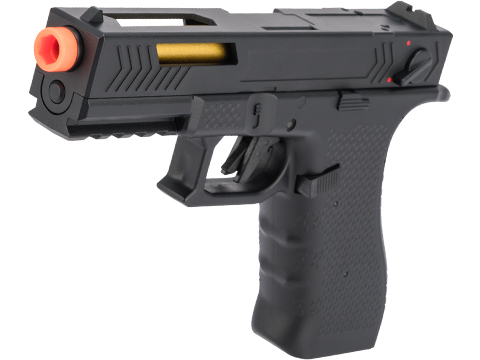 CYMA AEP Full Auto Select Fire 17 Style Airsoft AEP w/ Metal Gearbox & MOSFET (Color: Black)