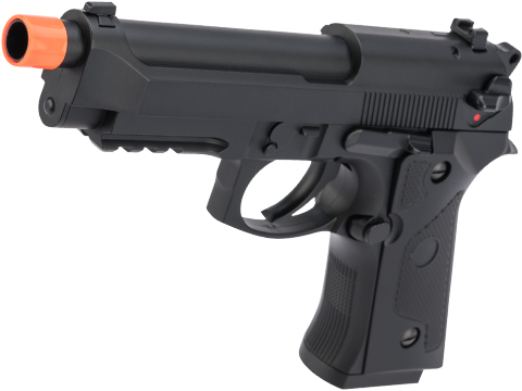 CYMA AEP Full Auto Select Fire M9A1 Airsoft AEP Pistol w/ Metal Gearbox & MOSFET (Color: Black)