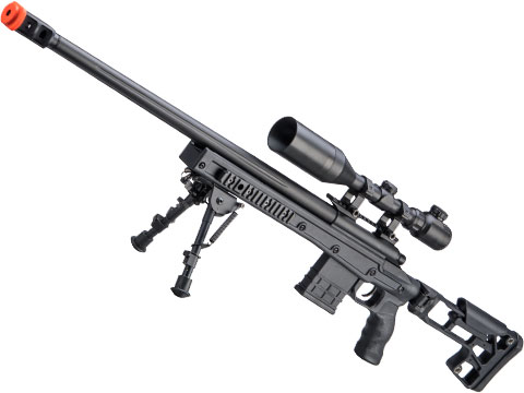 CYMA M700 Tactical Bolt Action Sniper Rifle with Folding Skeletal Stock