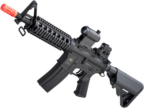 Matrix Full Size M4 BAMF Airsoft AEG w/ Metal Gearbox (Model: M4 CQB RIS Black / 300 FPS)