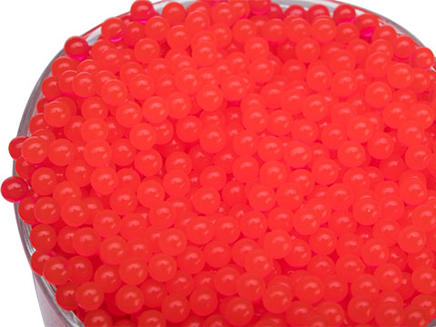 Foam Blaster Replacement Water Gel Bullets for Water Bead Grenades and other Gel Ball Blasters (Qty: 10,000 Count / Red)