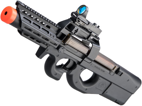 FN Herstal Licensed P90 RIS Airsoft AEG with Integrated Mock Suppressor