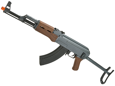 CYMA Sport AK47S Under-Folding Stock Airsoft AEG Rifle w/ Simulated Wood Furniture (Package: Gun Only)