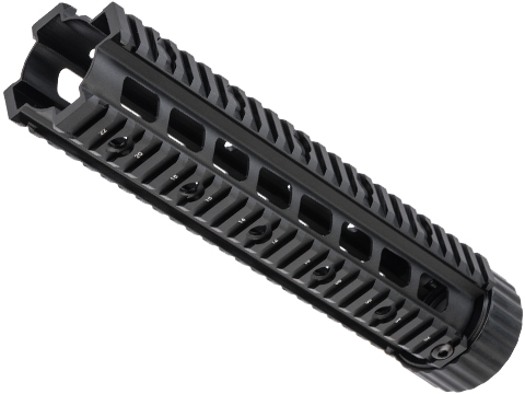 Free Float Full Metal Rail Interface System for M4 / M16 Series Airsoft AEG (Length: 10)